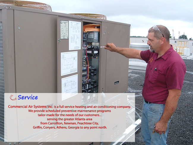 Commercial Air Systems Service
